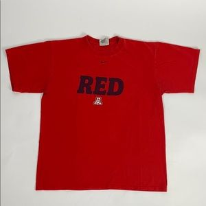 University of Arizona  Vintage Nike Men's Tee